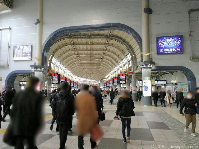 品川駅東西連絡通路