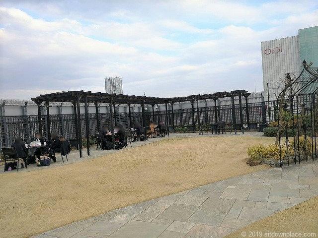 新宿マルイ本館Q-COURTの実りの庭
