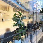 【新宿駅】小田急サザンタワー 2Fの休憩場所