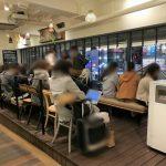 【新宿駅】ルミネエスト2F 連絡通路の休憩場所