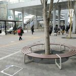 【田町駅】東口駅前 なぎさテラス前
