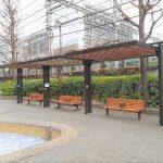 【田町駅】本芝公園の休憩場所