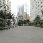 【田町駅】芝5丁目児童遊園の休憩場所