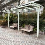【田町駅】新芝浦運河 新芝橋~藻塩橋の休憩場所