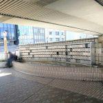 【上野駅】ペデストリアンデッキの休憩場所
