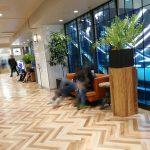 【横浜駅】横浜ビブレ 2F スターバックス前の休憩場所