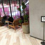 【横浜駅】横浜ビブレ 3F evangile前の休憩場所