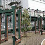 【代々木駅】高島屋タイムズスクエア横 広場の休憩場所