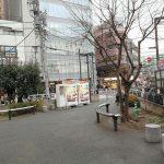 【代々木駅】うまや道公園の休憩場所