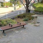 【赤羽橋駅】東麻布児童遊園の休憩場所
