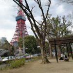 【赤羽橋駅】芝公園 弁天池付近の休憩場所