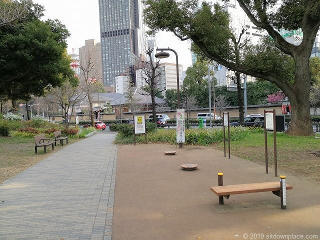芝公園の健康器具