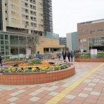 【東神奈川駅】ペデストリアンデッキの休憩場所