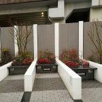 【武蔵小杉駅】KDX武蔵小杉ビル横広場の休憩場所