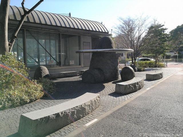 御成門駅前緑地