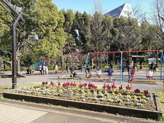 芝公園の児童遊園