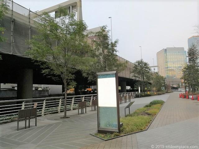 エコミュージアムの日本橋川付近