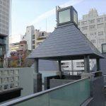 【六本木駅】ピラミデビル 3F 展望休憩場所