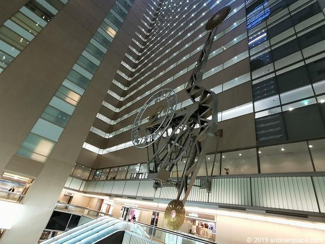 新宿NSビル1Fホールの世界最大の振り子時計