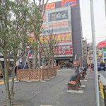 【調布駅】南口バスロータリー横の休憩場所