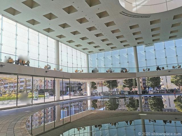 川崎駅ソリッドスクエア アリーナの全体
