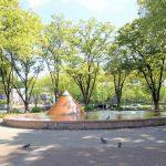 【栄駅】久屋大通公園 ピラミッド噴水の休憩場所