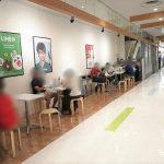 【宇都宮駅】パセオ本館1F コミュニティスペースの休憩場所