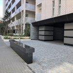 【船堀駅】ザ・パークハウス船堀前の休憩場所