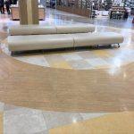 【本八幡駅】ニッケコルトンプラザ3階エスカレーター前の休憩場所
