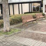 【本八幡駅】ニッケコルトンプラザ コルトン広場の休憩場所