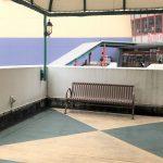 【本八幡駅】ニッケコルトンプラザ ウエストモール入口前の休憩場所
