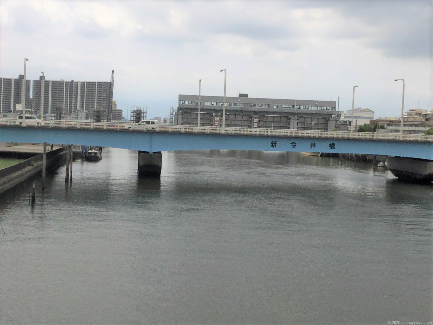 一之江瑞江大橋からの景観