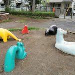 【分倍河原駅】美好町公園の休憩場所