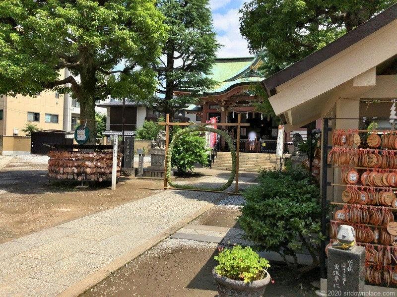 浅草駅今戸神社の外観
