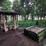 【分倍河原駅】高安寺 弁慶硯の井戸の休憩場所