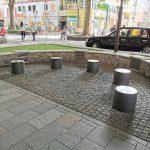 【府中駅】けやき並木通りの休憩場所
