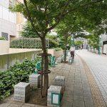 【府中駅】くるる横通りの休憩場所