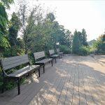 【二子玉川駅】ガーデンアイランド 屋上庭園の休憩場所