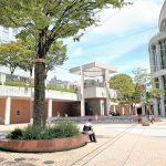【浜松駅】アクトシティ サンクンプラザの休憩場所