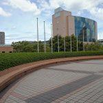 【浜松駅】アクトシティ 動く歩道橋横の休憩場所