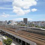 【浜松駅】アクトの森 アクトタワー前の休憩場所