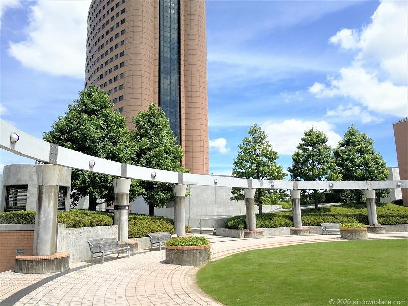 浜松駅アクトの森 音楽広場の外観1