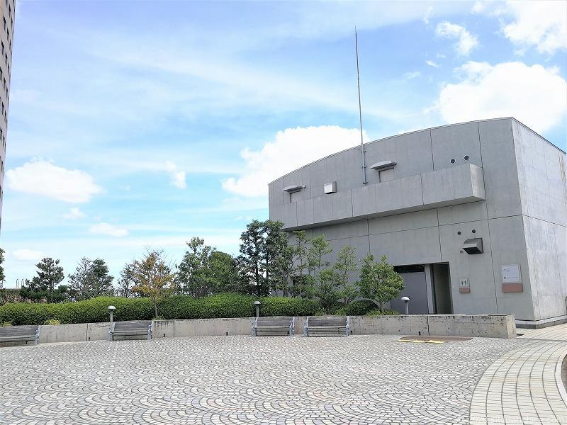 浜松駅アクトの森 音楽広場の広場2