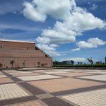 【浜松駅】アクトの森 太陽の広場の休憩場所
