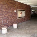 【浜松駅】アクト通り入口の休憩場所