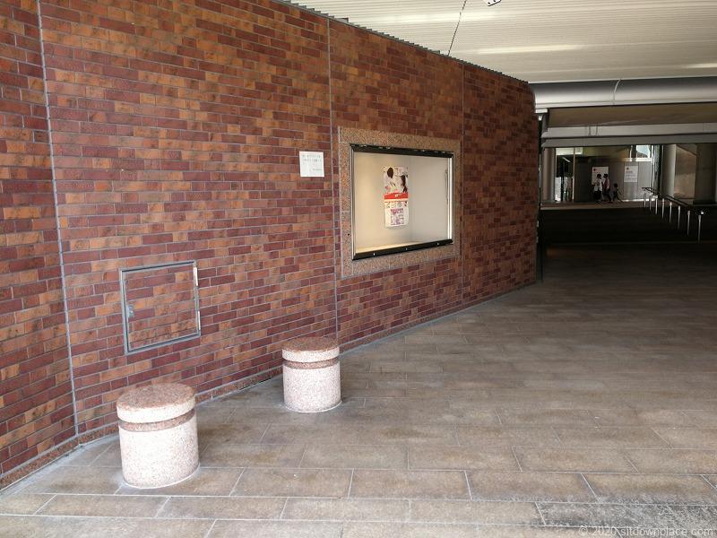 浜松駅アクト通り入口の外観
