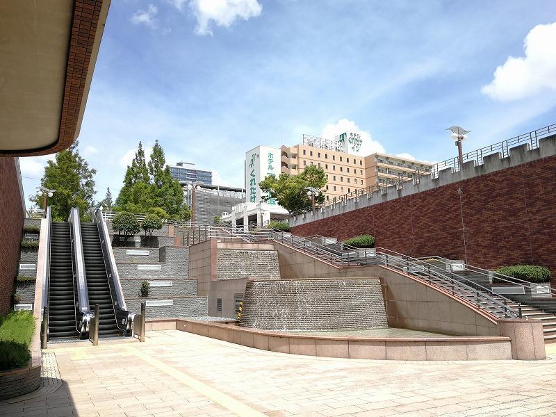 浜松駅アクト通りの噴水
