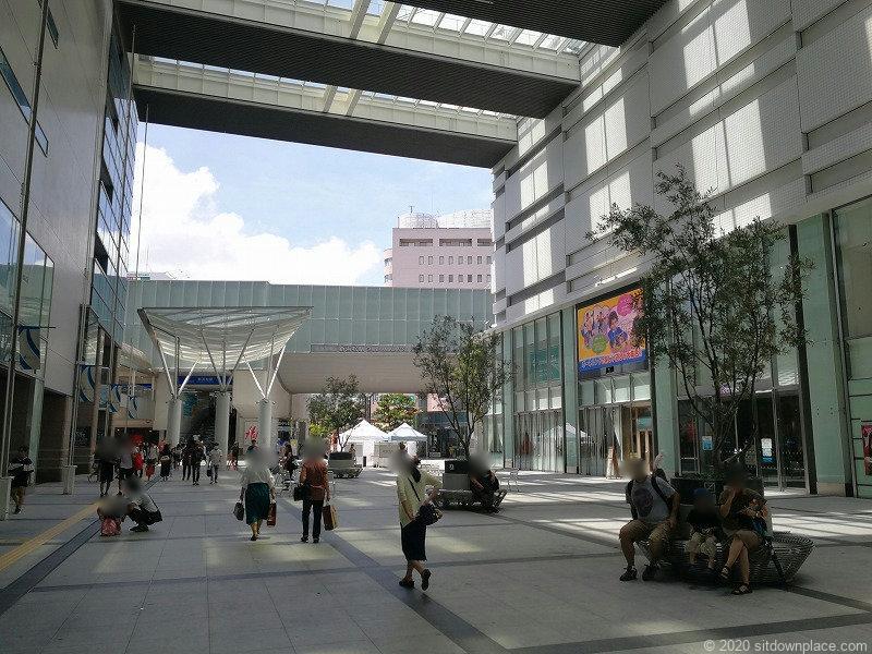 浜松駅ギャラリーモールソラモの外観