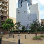 【浜松駅】東横イン横 D's Tower公開空地の休憩場所
