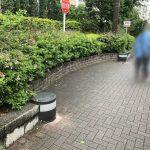 【北千住駅】コーシャハイム北千住前の休憩場所